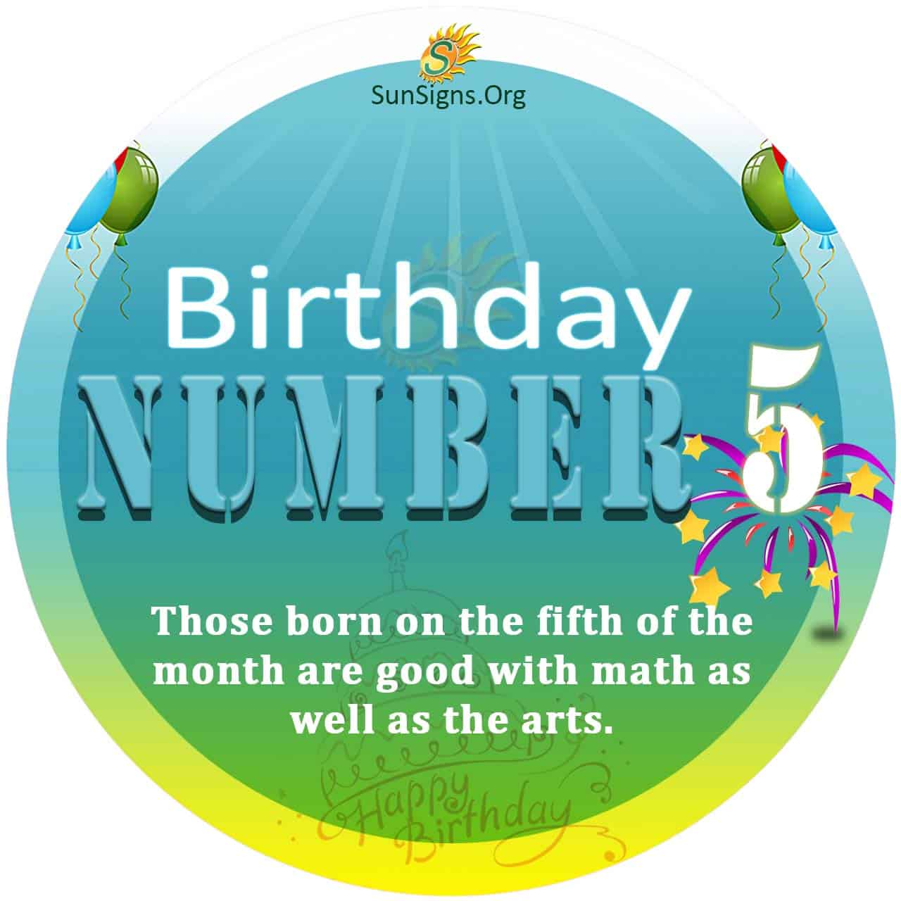 numerology number 5 march day