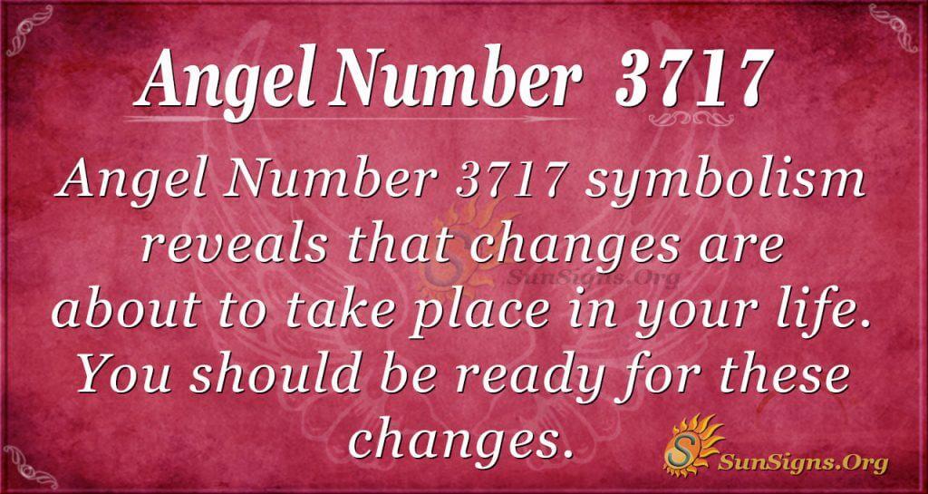 Angel number 3717