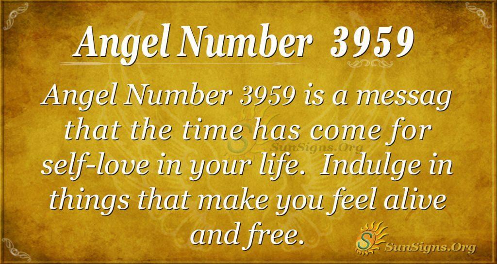 angel number 3959