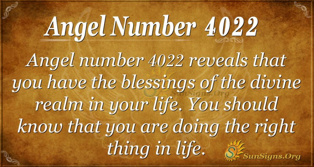 angel number 4022