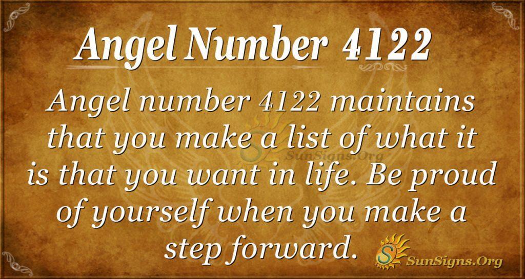 angel number 4122