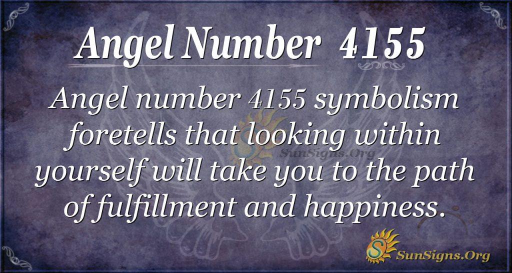 angel number 4155