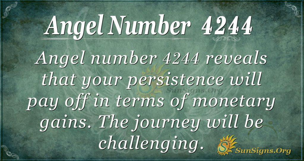 angel number 4244