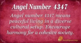 Angel number 4347