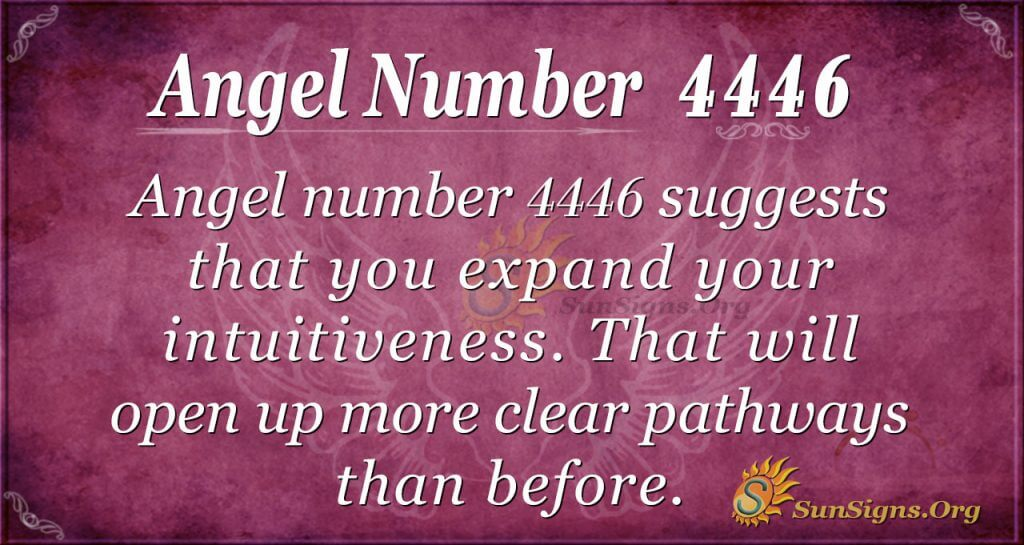 angel number 4446