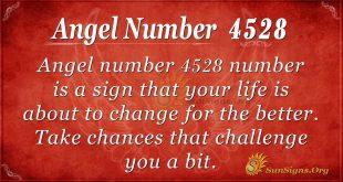 Angel number 4528
