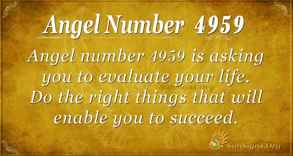 angel number 4959