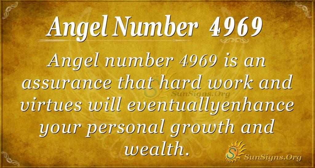 angel number 4969