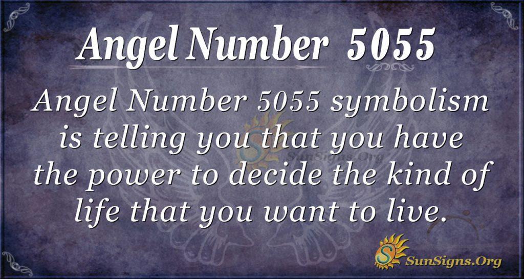 angel number 5055