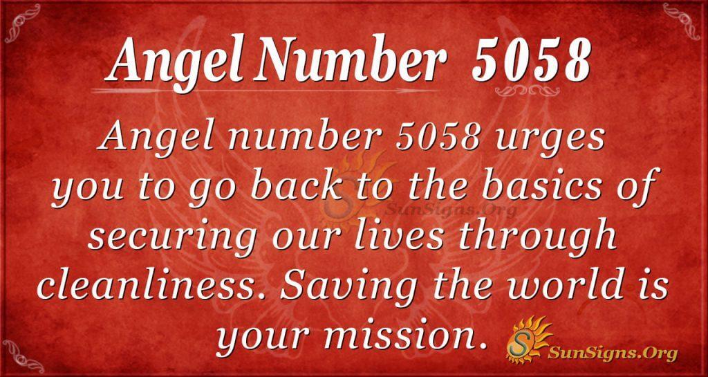 Angel number 5058