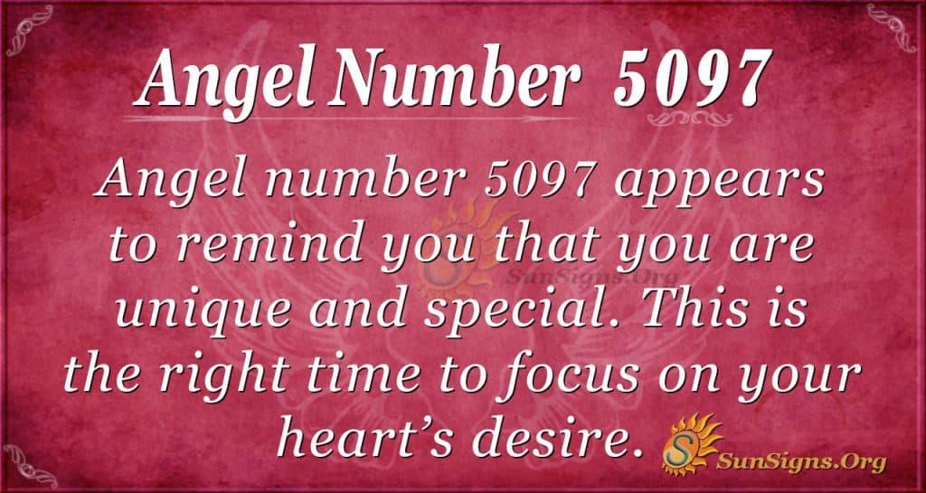 Angel number 5097