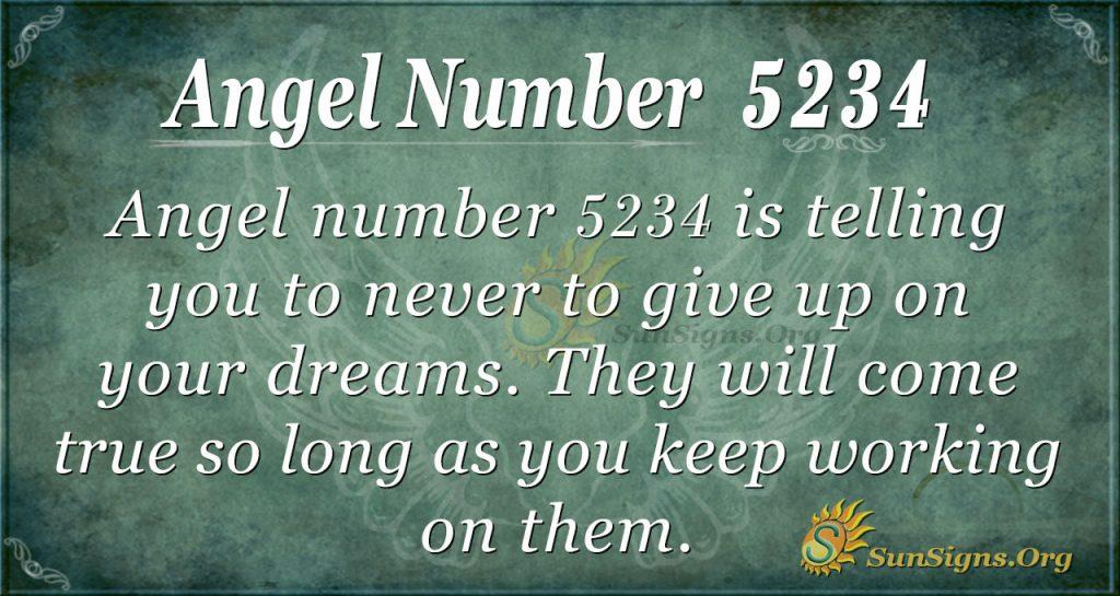 angel number 5234
