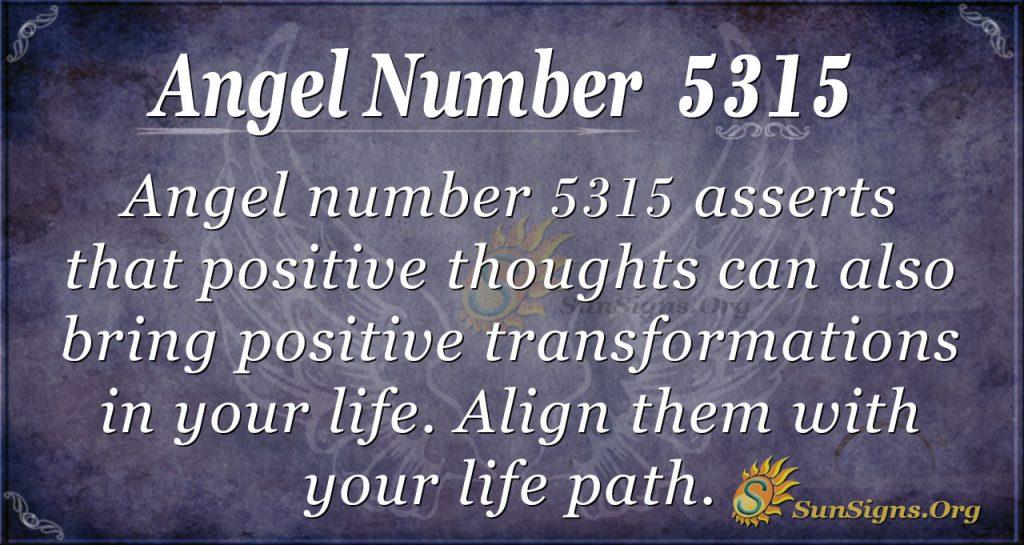 angel number 5315