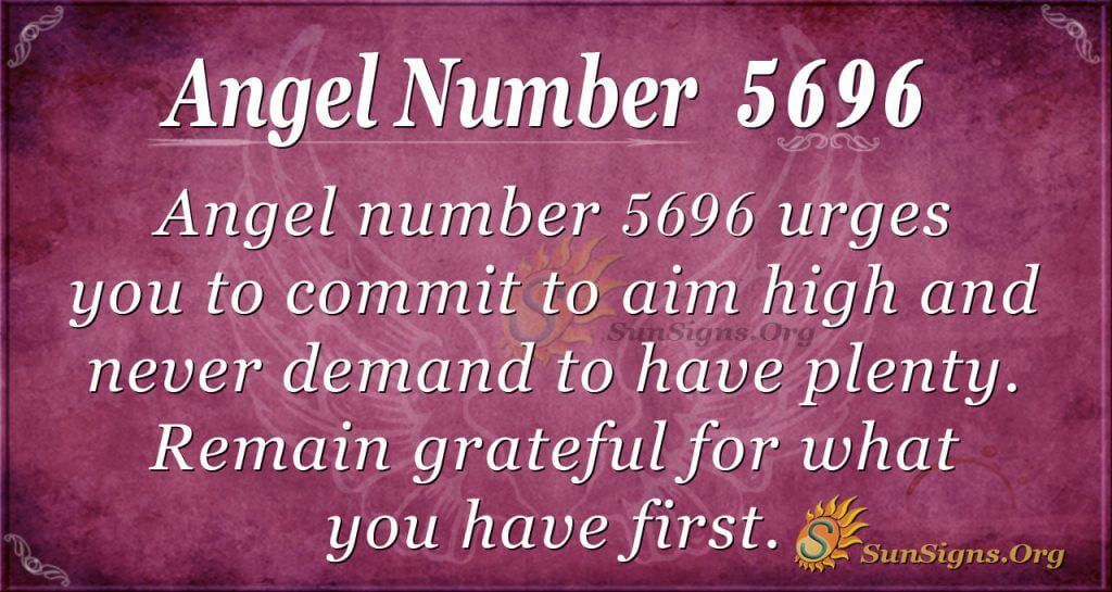 angel number 5696
