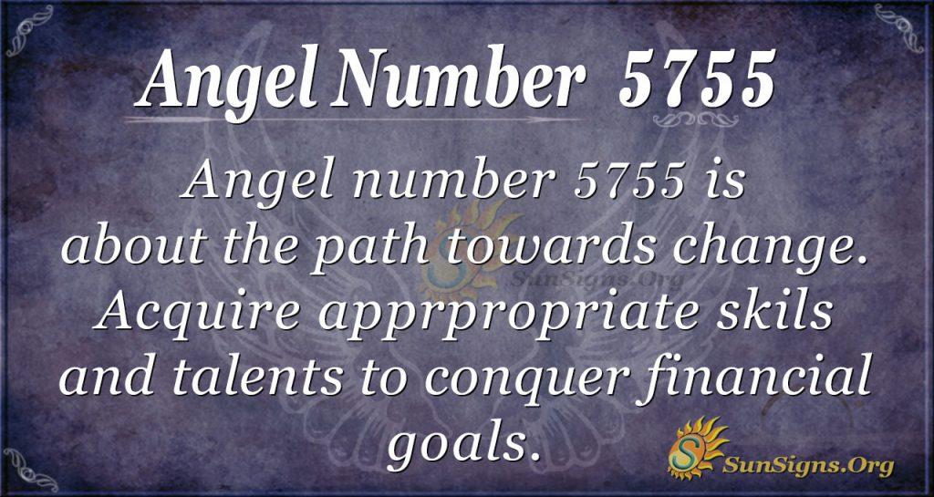 angel number 5755