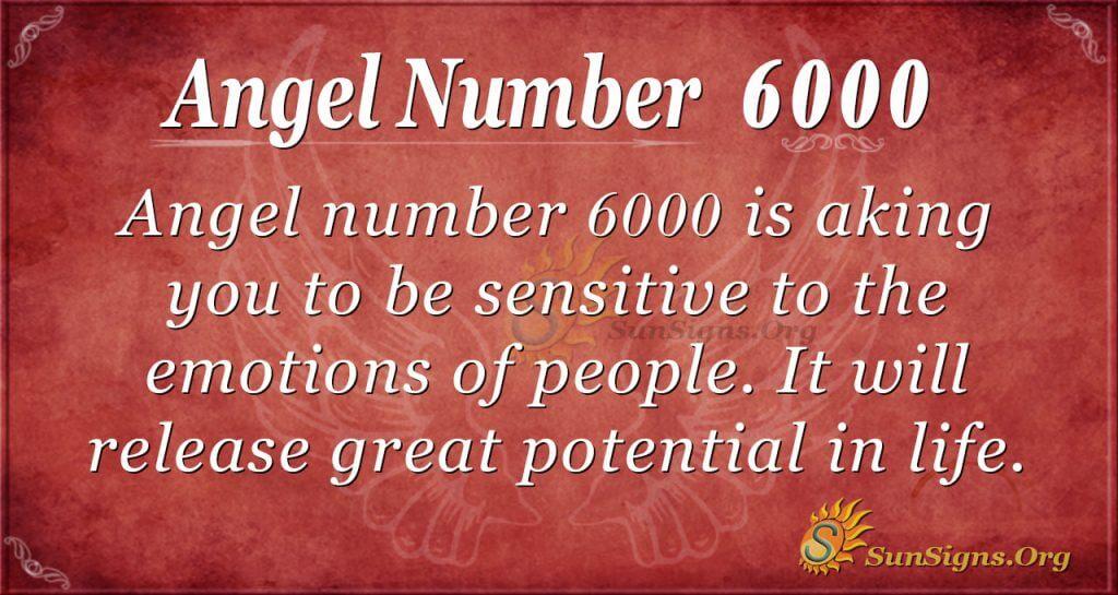 angel number 6000
