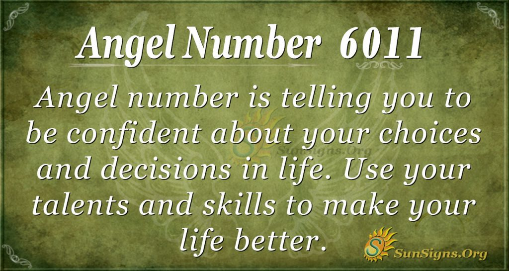 angel number 6011