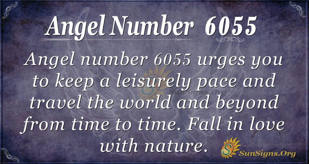 Angel number 6055