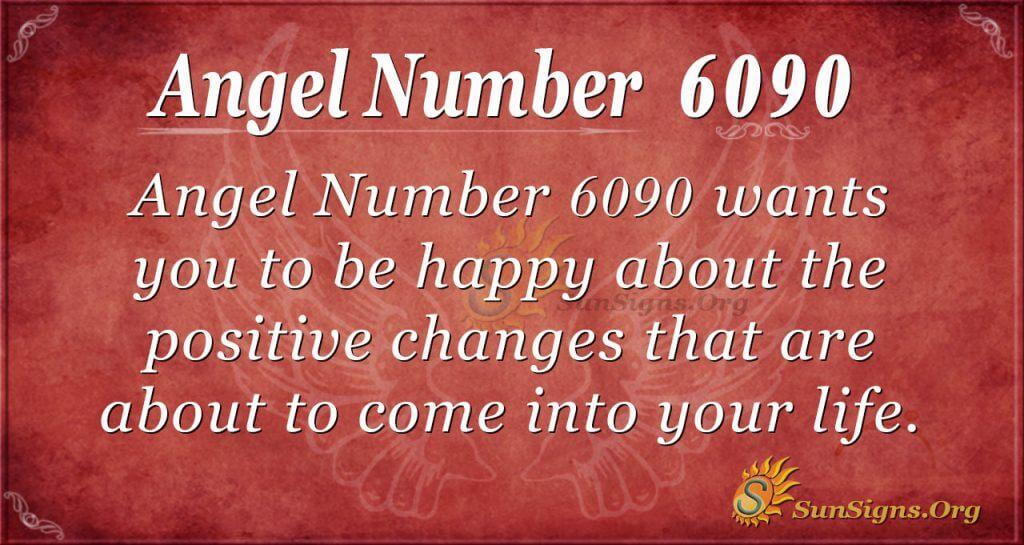 Angel number 6090
