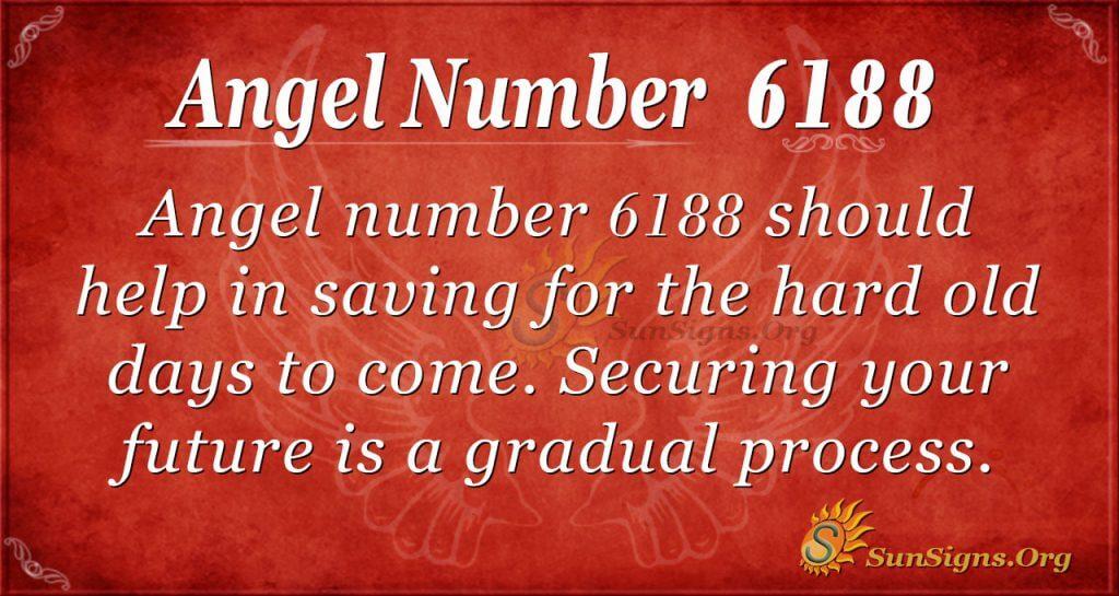 angel number 6188