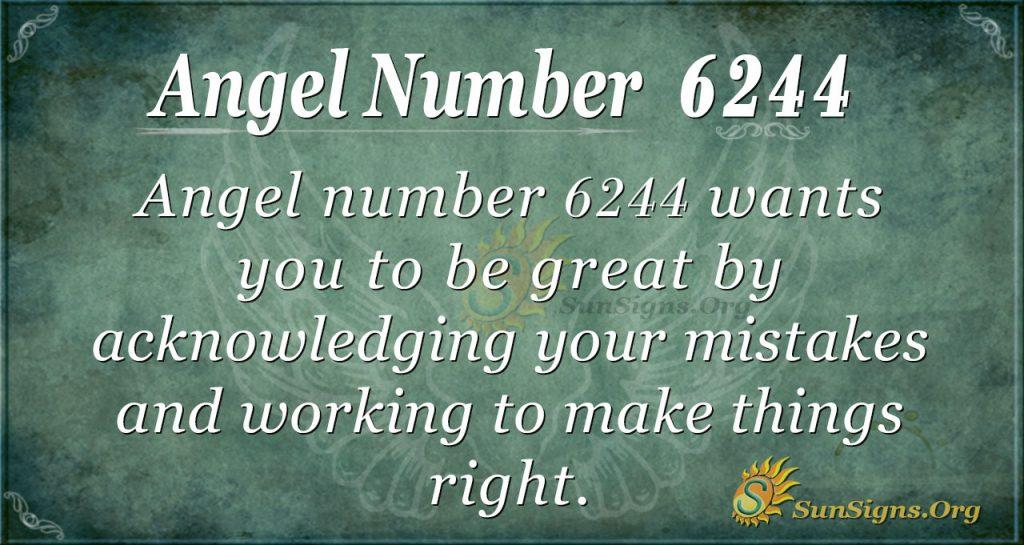 angel number 6244