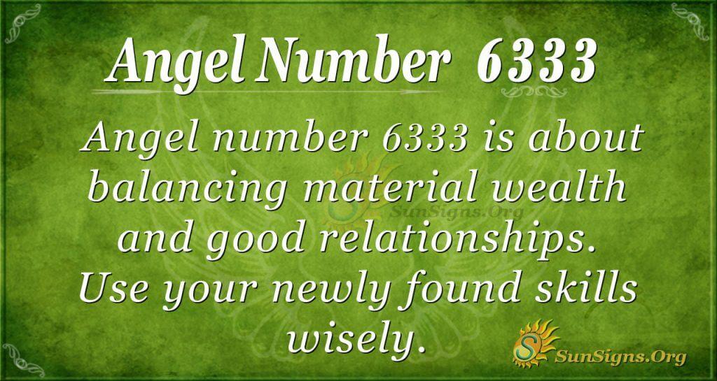 angel number 6333