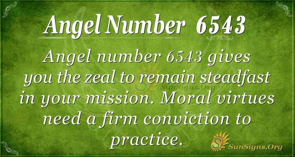 angel number 6543