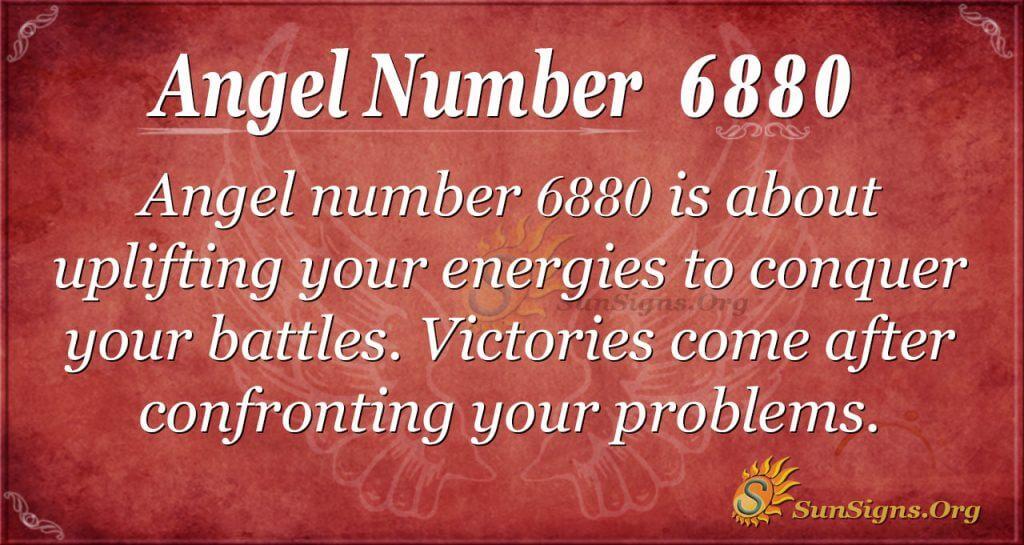 angel number 6880
