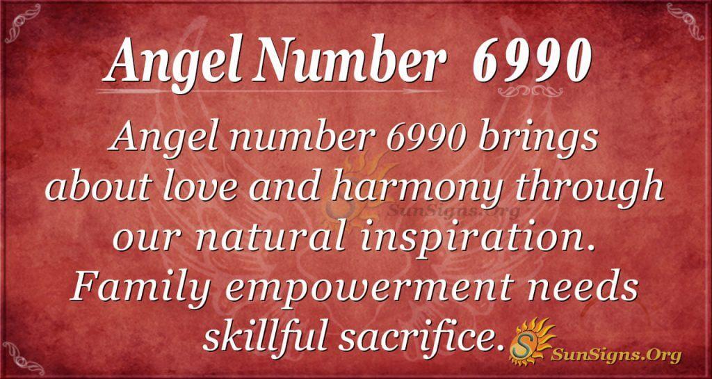 angel number 6990