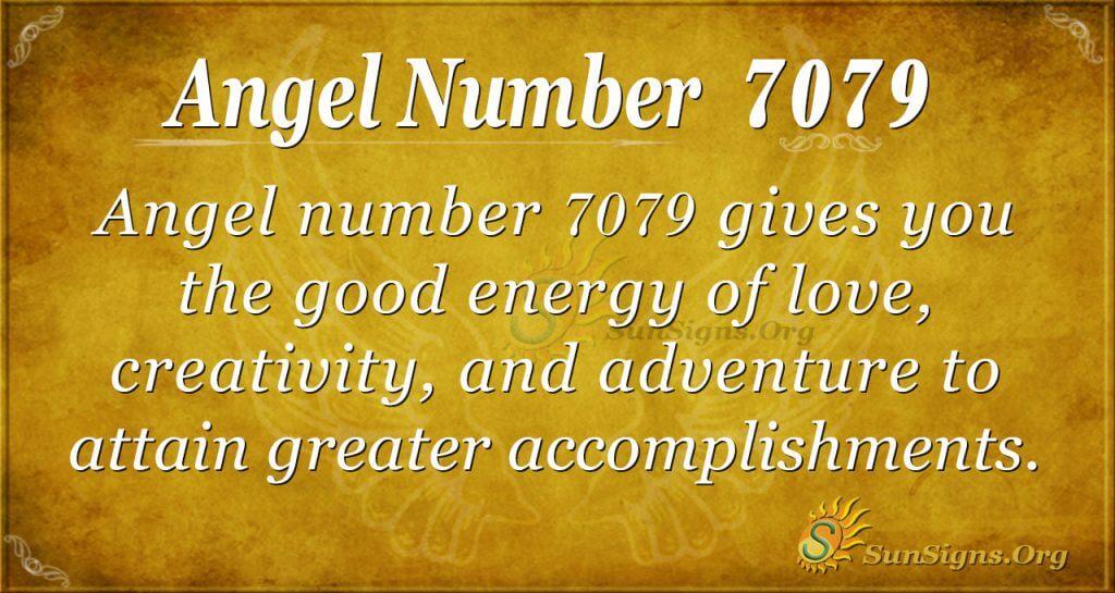 Angel number 7079