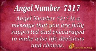 Angel number 7317
