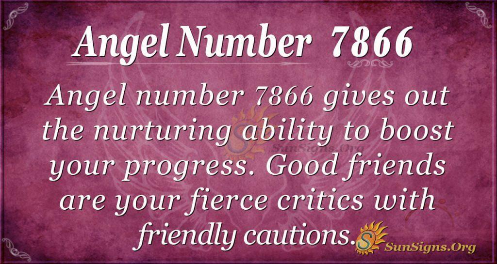 angel number 7866