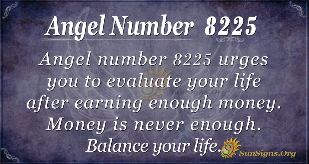 Angel number 8225