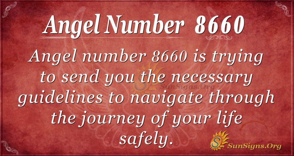 angel number 8660