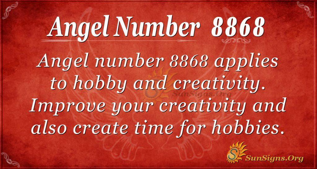 angel number 8868