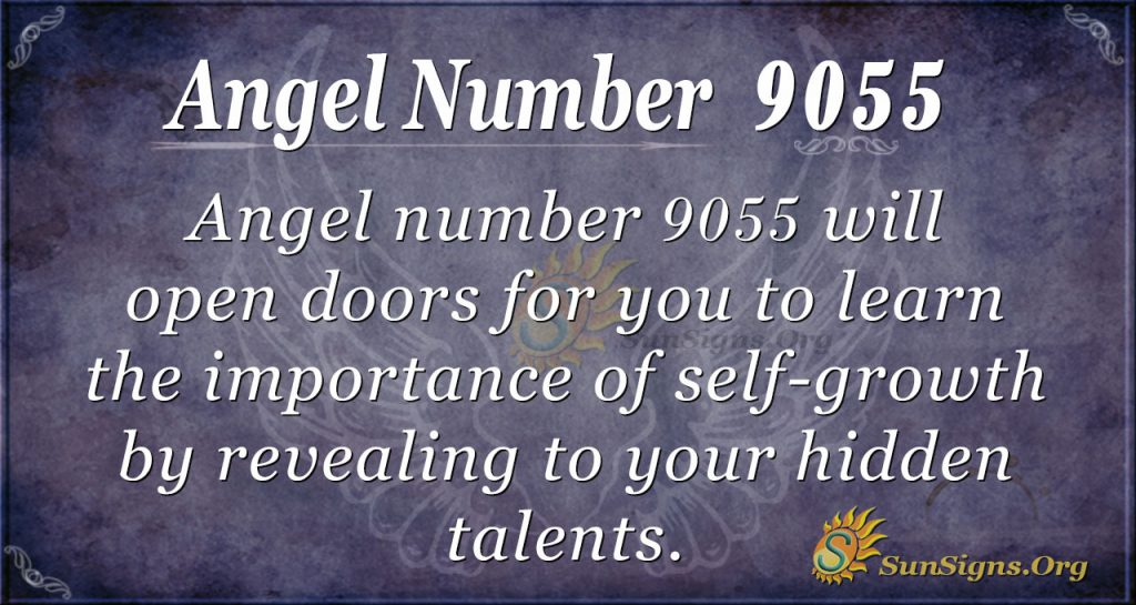 angel number 9055
