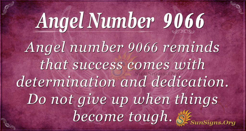 angel number 9066