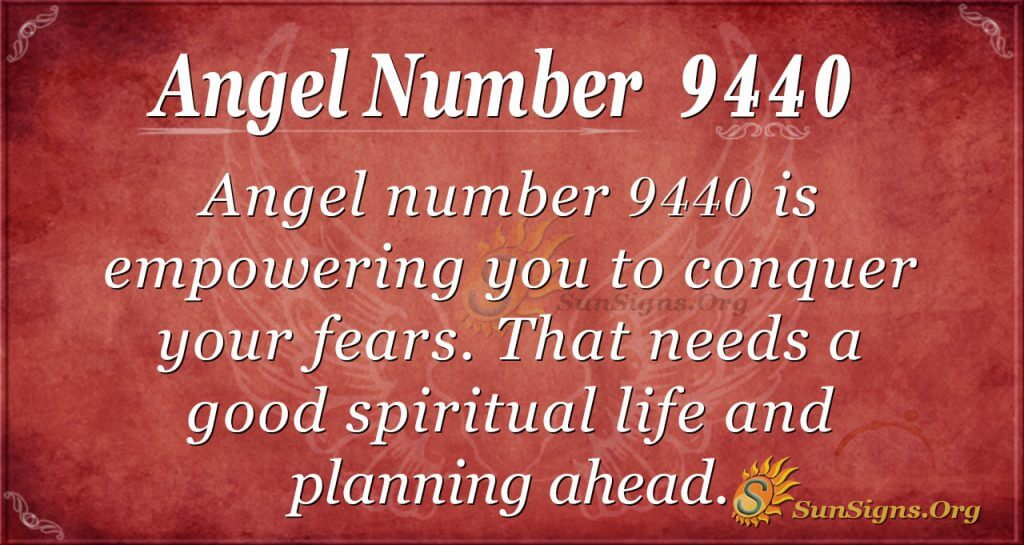 angel number 9440