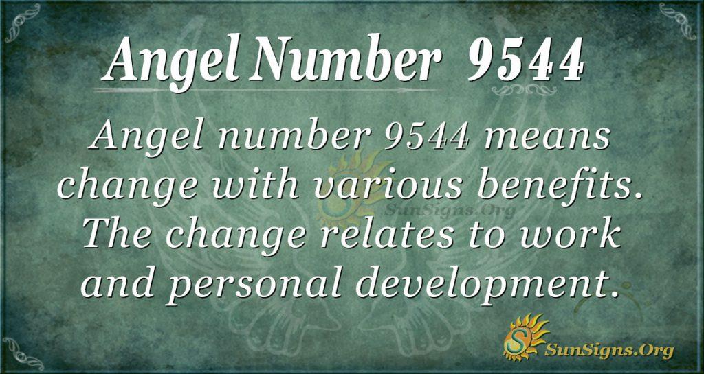 angel number 9544