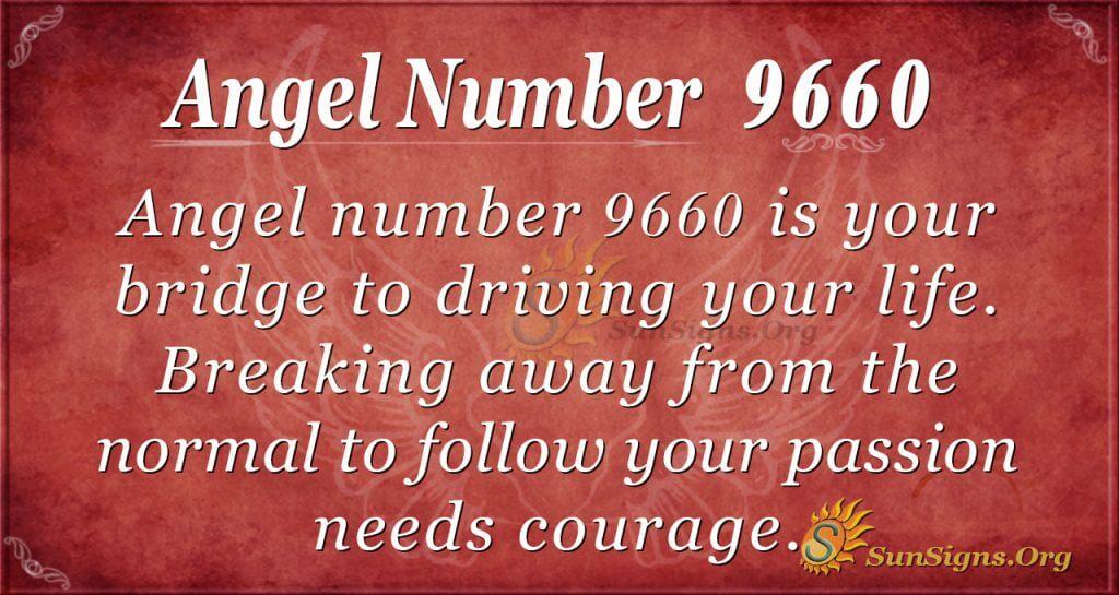 Angel number 9660