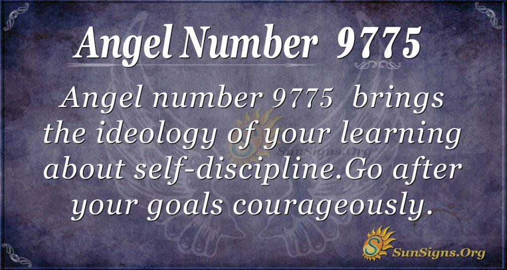 angel number 9775