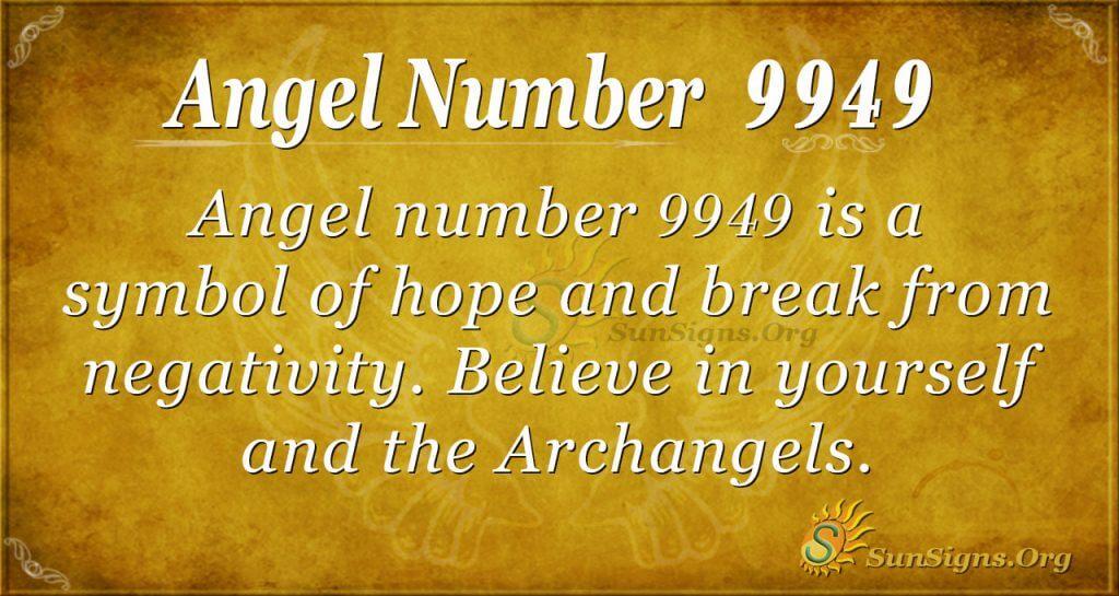 angel number 9949