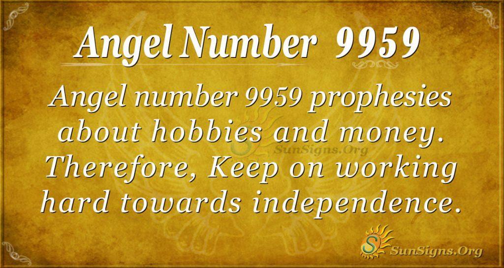 angel number 9959