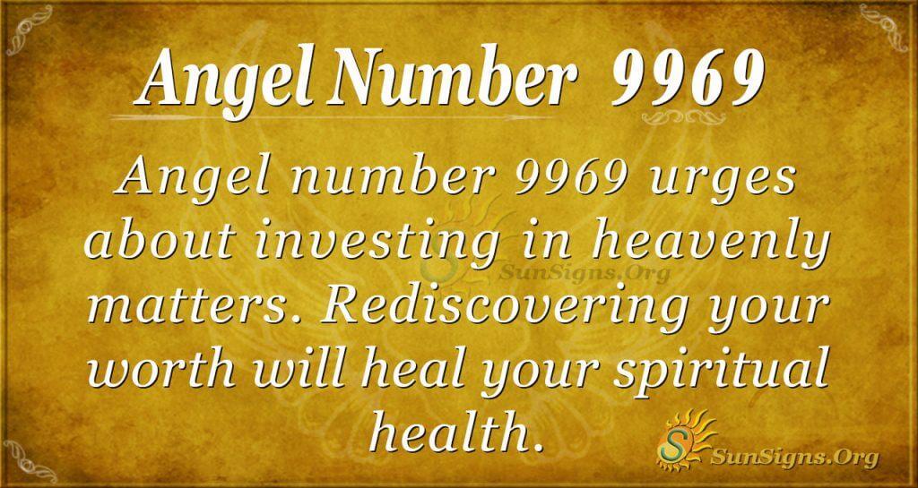 Angel number 9969