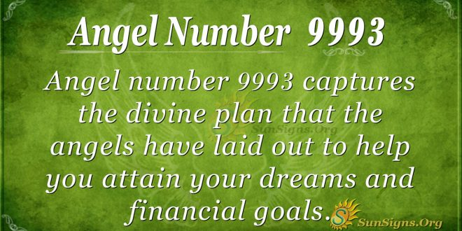 angel number 9993