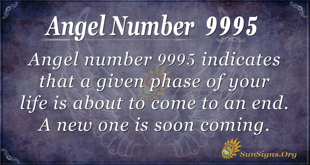 Angel number 9995