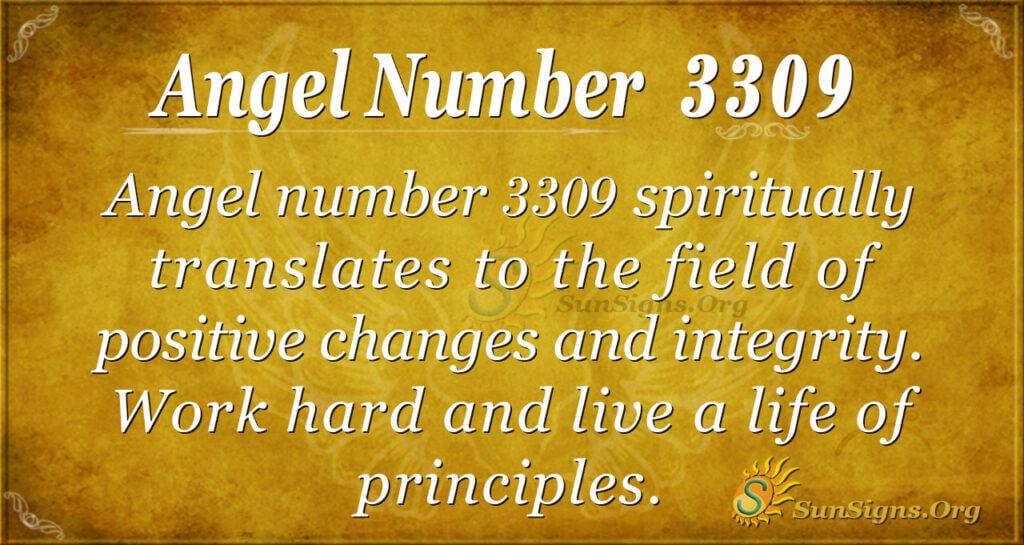 3309 angel number