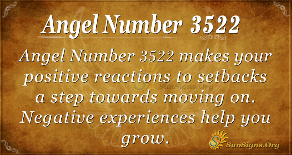 Angel number 3522