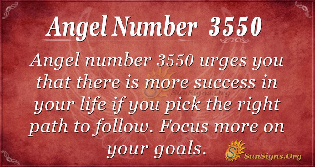 3550 angel number