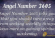 3605 angel number